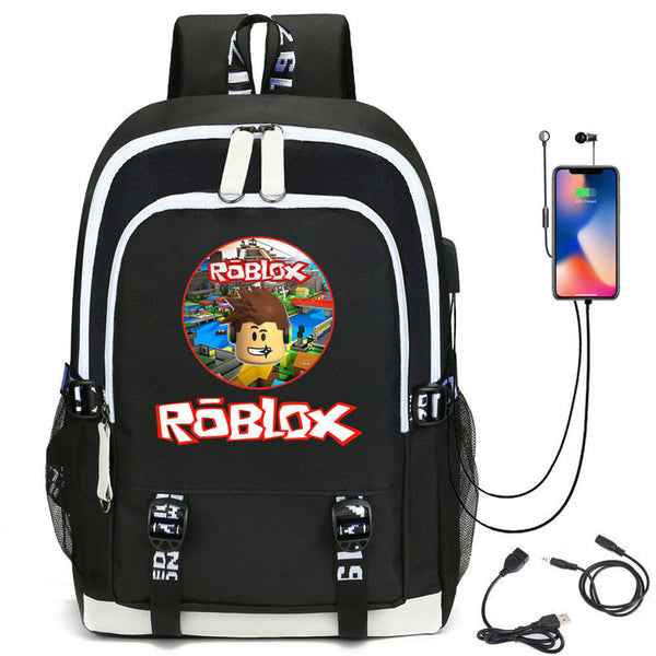 Casual Stylish Roblox Backpacks for Men Women Bag