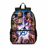 Avengers Endgame School Backpack 4PCS Shoulder Bag Lunch Bag Pen Bag