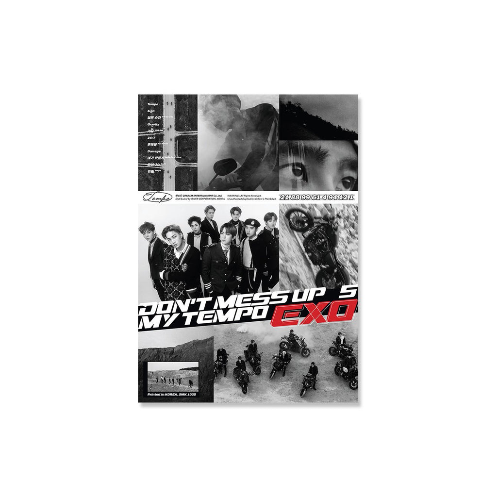 EXO The 5th Album  'DON'T MESS UP MY TEMPO' (Allegro)