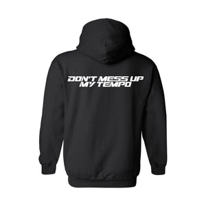 EXO Don't Mess Up My Tempo Black Pullover Hoodie