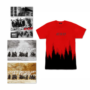 Bundle D: 1 Album Selection + Tempo Red Shirt