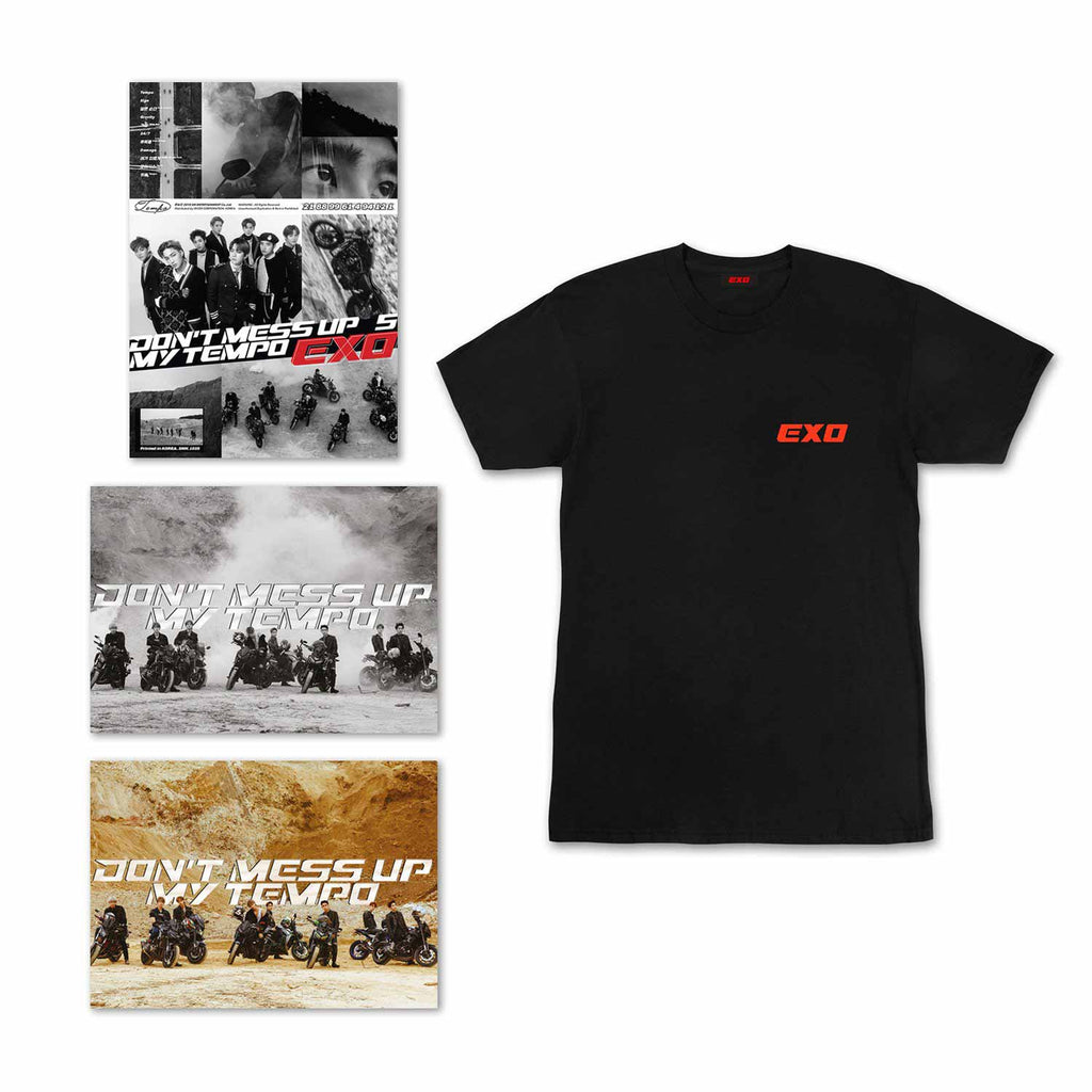Bundle A: 1 Album Selection + Tempo Black Shirt