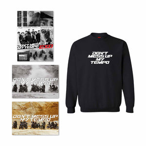 Bundle B: 1 Album Selection + Tempo Black Sweatshirt