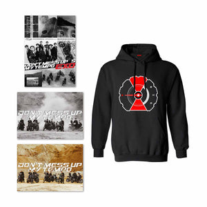Bundle C: 1 Album Selection + Tempo Black Hoodie