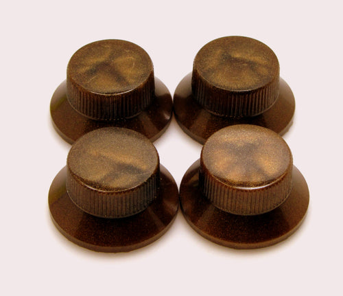 Haramis Musical Hardware Top Hat Knobs - Set of 4