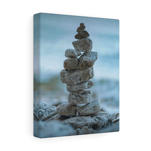 Rocks along the Beach Canvas Gallery Wraps