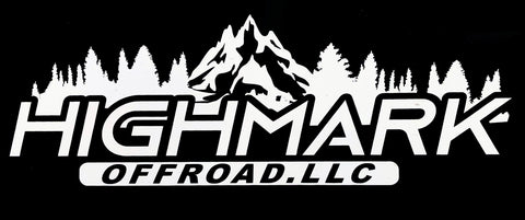 HighMark vinyl decal