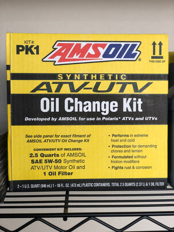 AMSOIL OIL CHANGE KIT