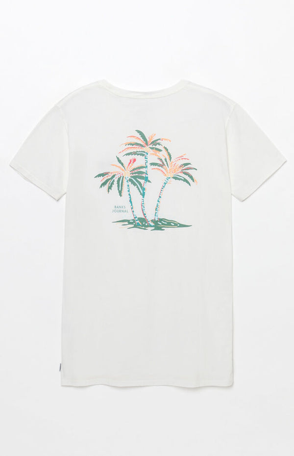 Banks Lei Lei Faded Tee Off White - (XL)