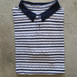 Banks Stripe Polo - (M)