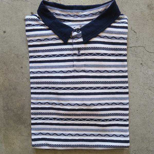 Banks Stripe Polo