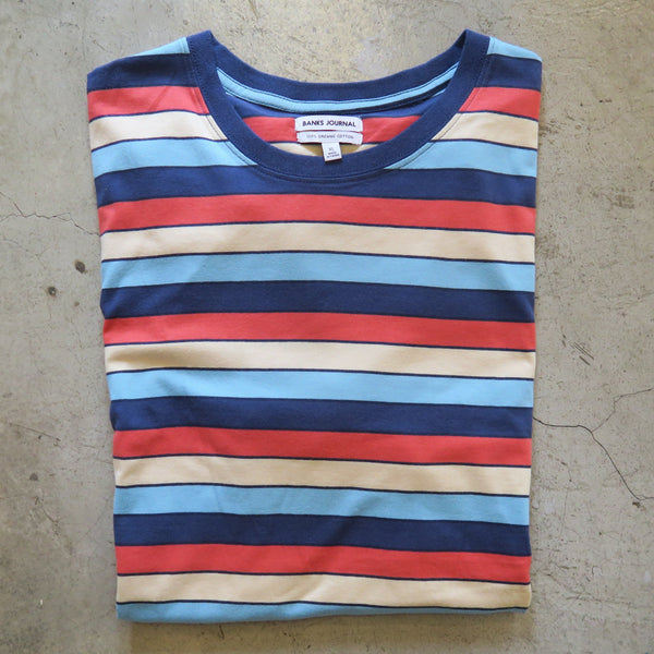 Banks Stripe Tee