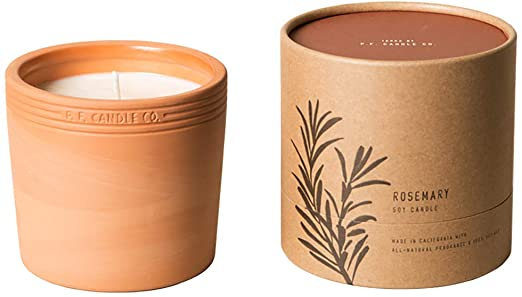 P.F Terra Candle Rosemary 17.5oz