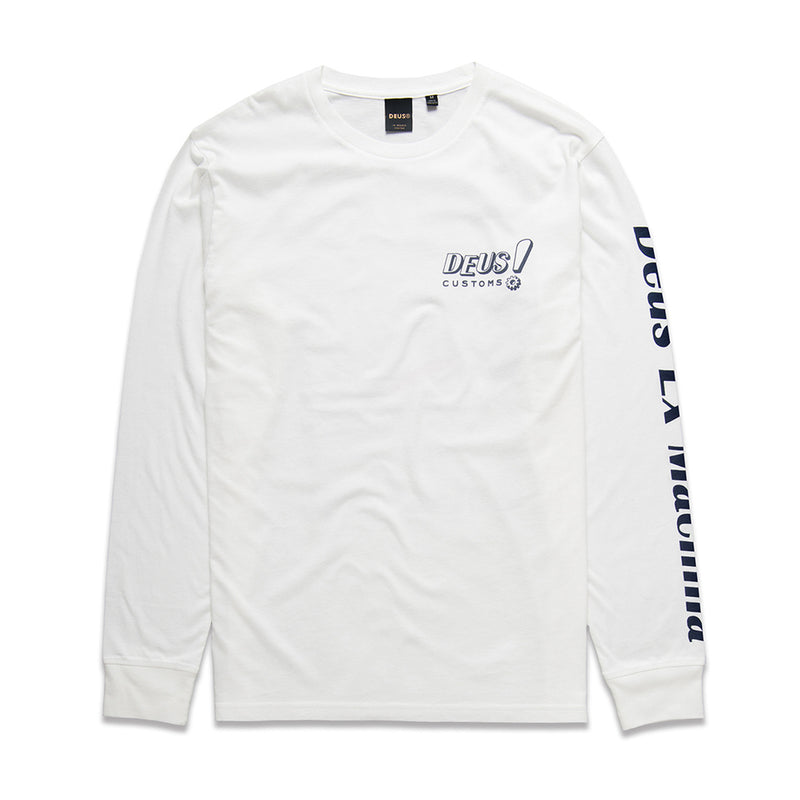 Deus Ketts Long Sleeve in White