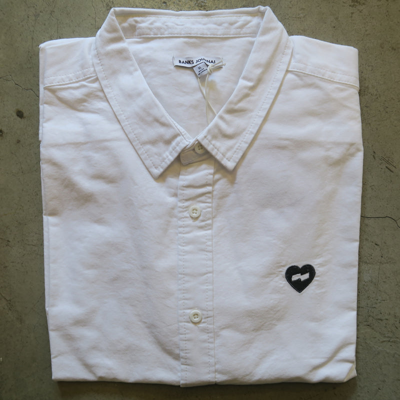 Banks Long Sleeve Heart String Button Down