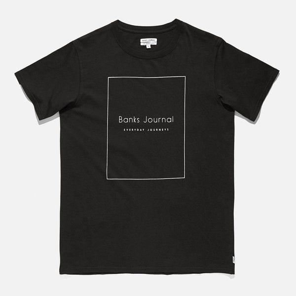 Banks Nue Classic Tee Dirty Black