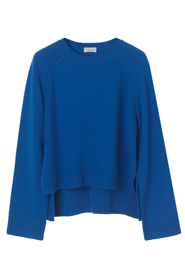 ALVIA SWEATER COBALT