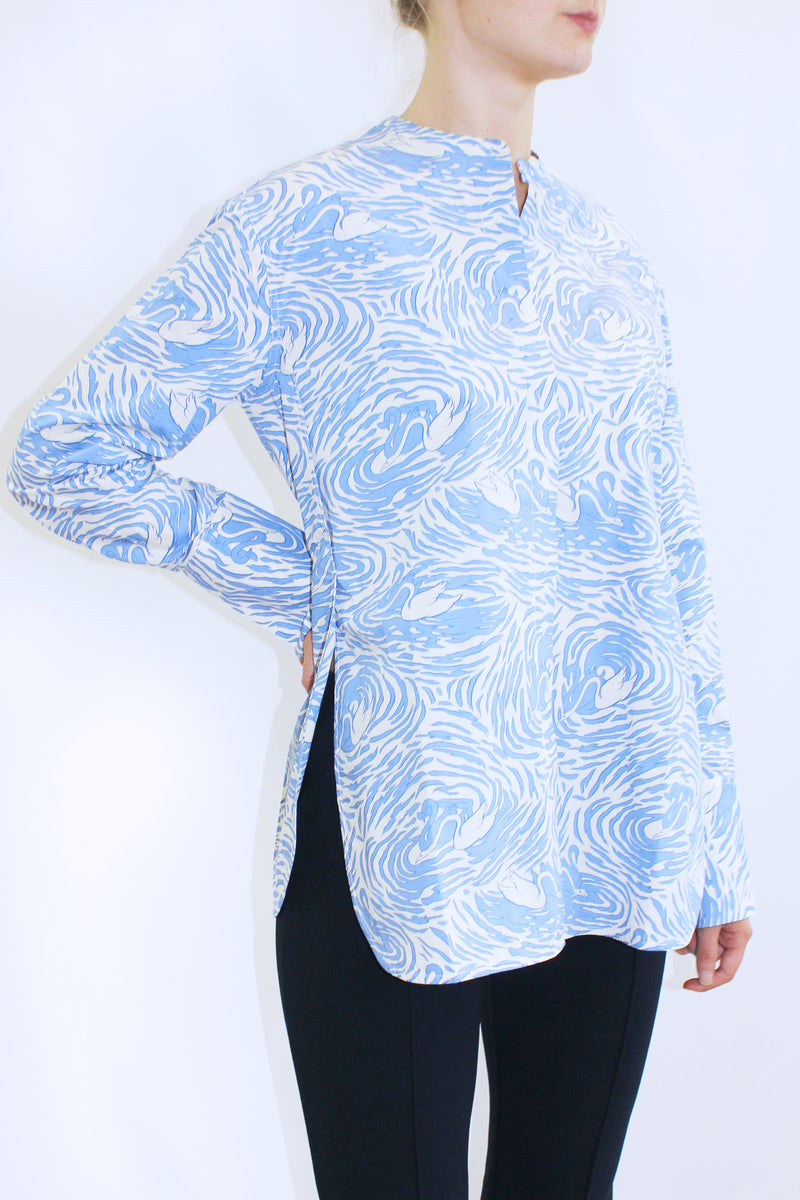 MICKI PRINT COTTON SHIRT