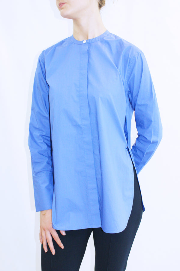 SMICKI COTTON SHIRT BLUE
