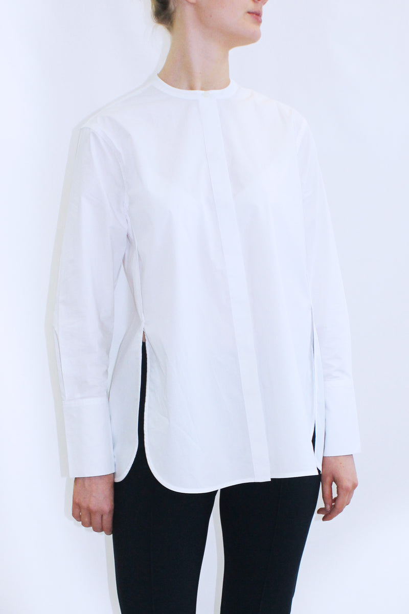 SMICKI COTTON SHIRT WHITE