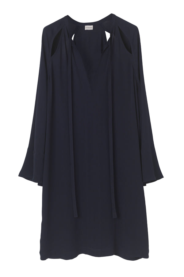 GALACTIA CUT OUT DRESS MIDNIGHT