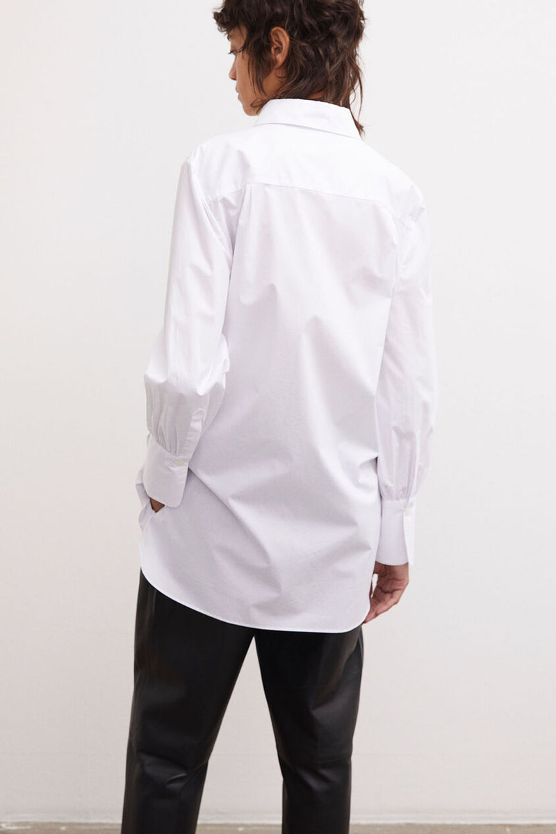 MARTIGUES WHITE COTTON SHIRT