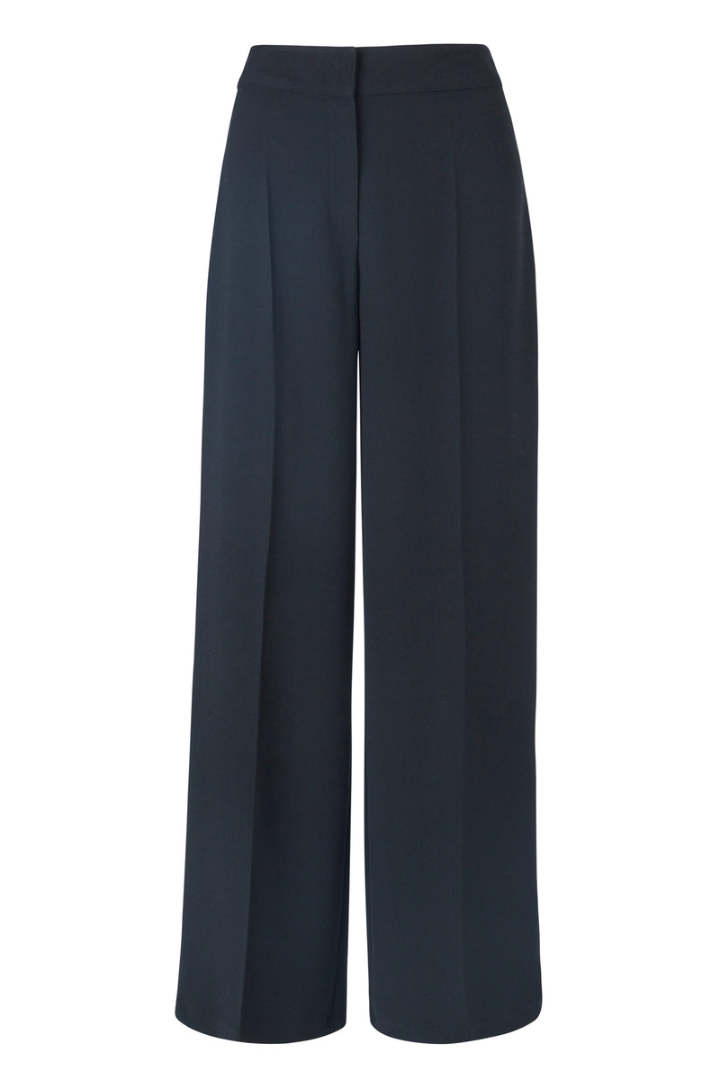 OLIANA WIDE LEG PANTS BLACK