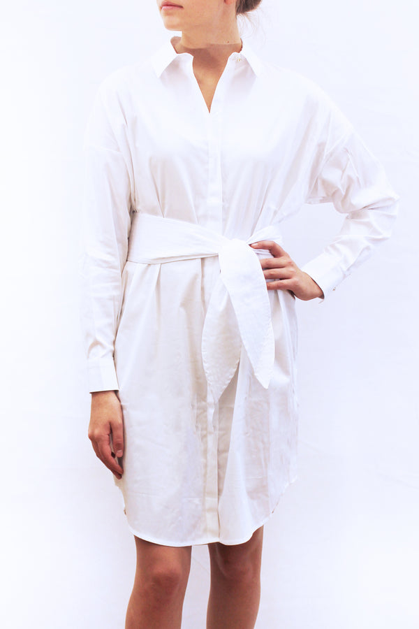 OZZY COTTON SHIRTDRESS