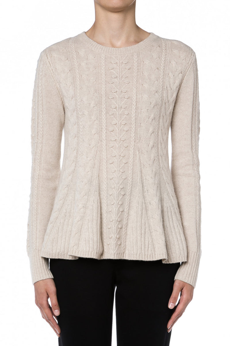 PERFORMANCE SWEATER IVORY