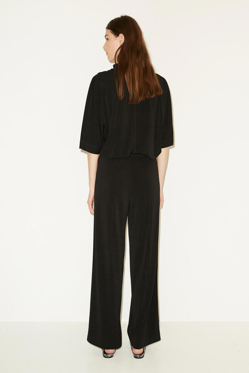 MIELA BLACK WIDE LEG TROUSER