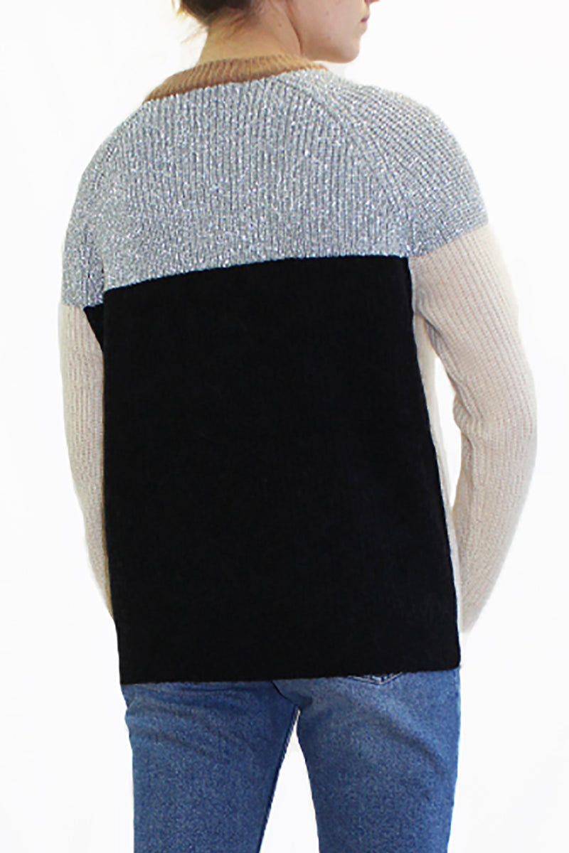 MIGHT CONTRAST SWEATER