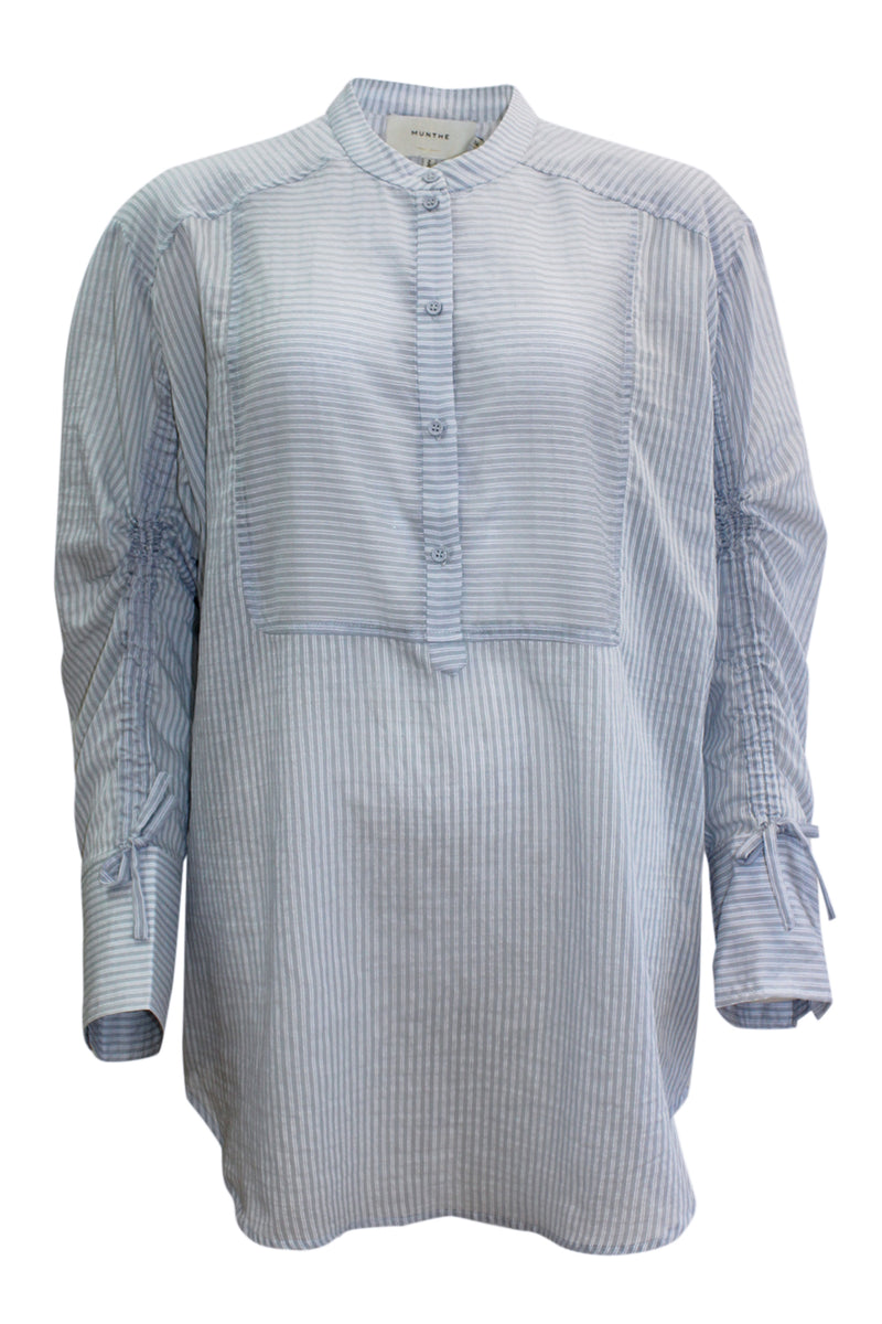 MELIA BLUE STRIPE SHIRT
