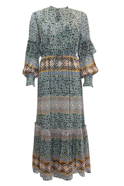 MITELLA MINT PRINT DRESS