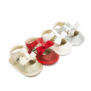 Bow baby girl toddler shoes