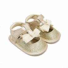 Load image into Gallery viewer, Bow baby girl toddler shoes
