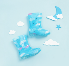 Load image into Gallery viewer, Children's cloud slippery rain boots