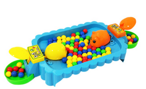 Greedy bead toy