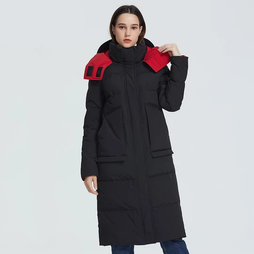 Winter Coat   Cut Length Below Knee Jacket