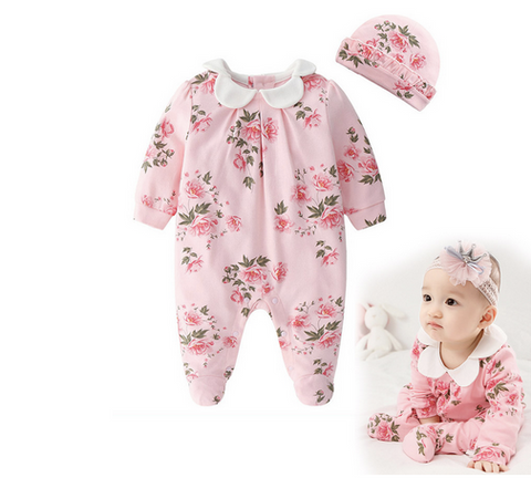 Baby Floral Cute One Piece