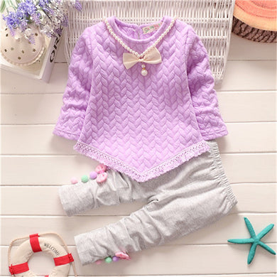 Baby cotton two-piece