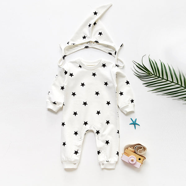 Little Star Baby Long Sleeve Siamese Climbing Suit