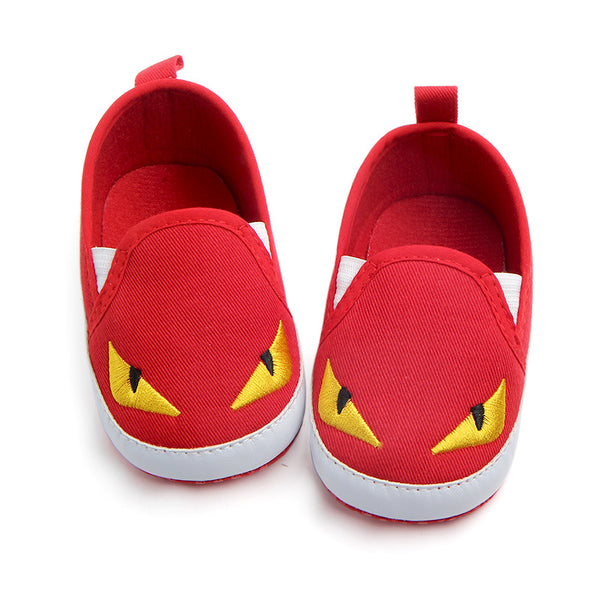 Cartoon toddler canvas shoes