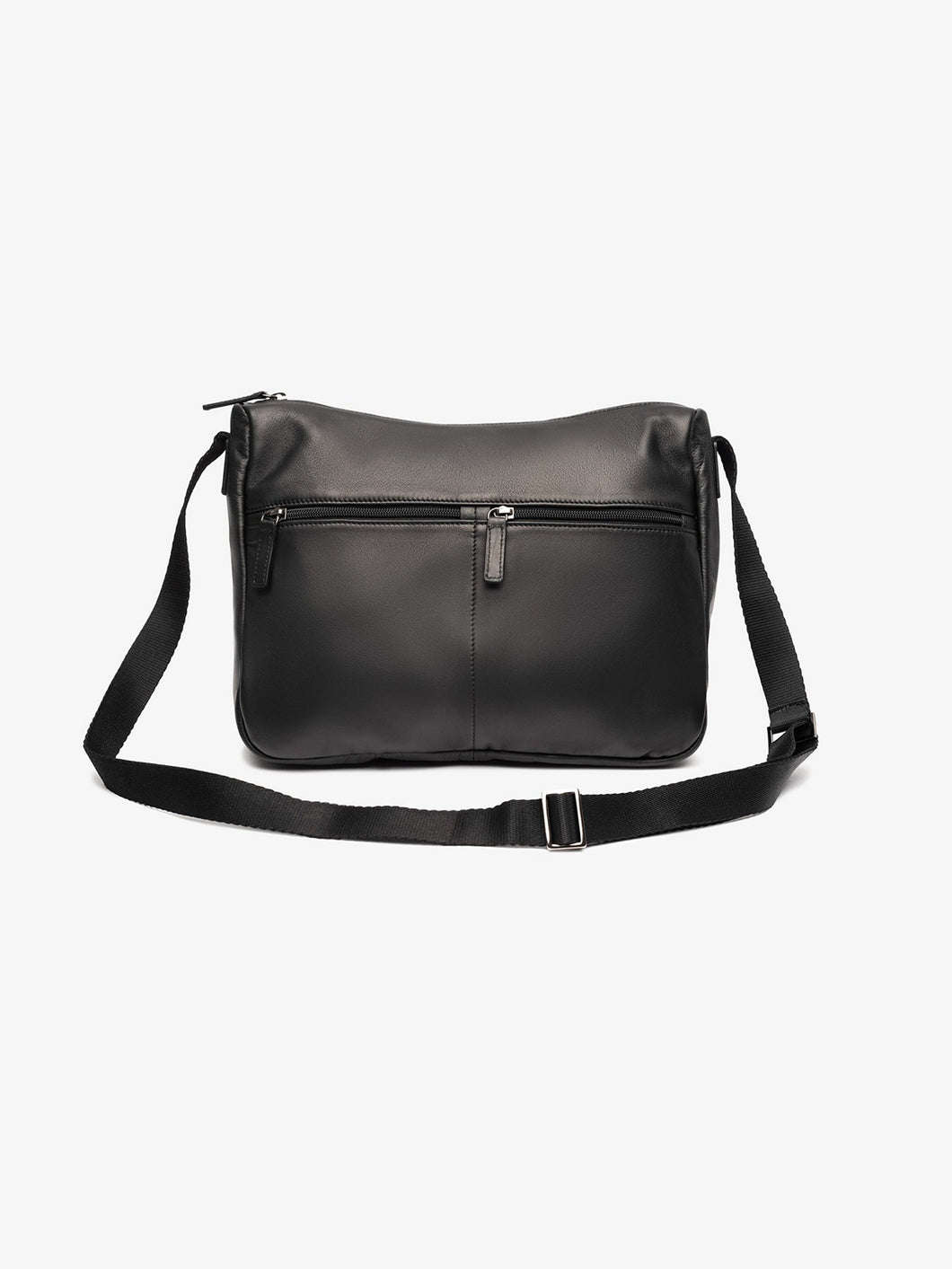 Athens Leather Messenger Bag