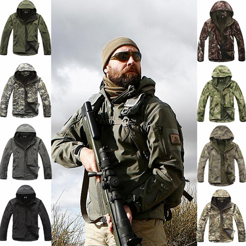 Outdoor Sports Soft Shell TAD Tactical Jacket Men