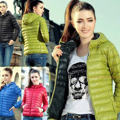 Thin section cotton jacket short women