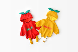 Baby cartoon fruit coverall