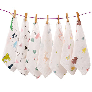 Baby cartoon saliva towel baby towels