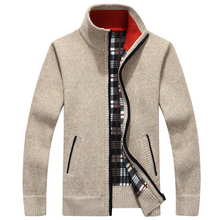 Load image into Gallery viewer, Men's SweaterCoat Faux