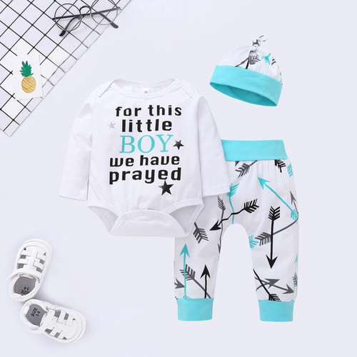 3-piece Baby Boy jumpsuit