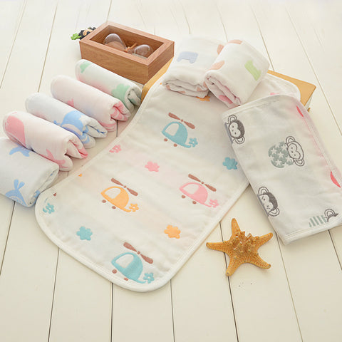 Newborn baby cartoon towel wash towel